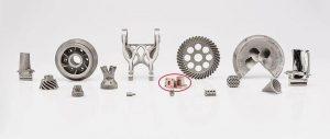具备粘结剂喷射技术成型潜力的金属和非金属材料超过40种