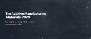 2020年3D打印材料种类超2000种,市场规模将突破20亿美元