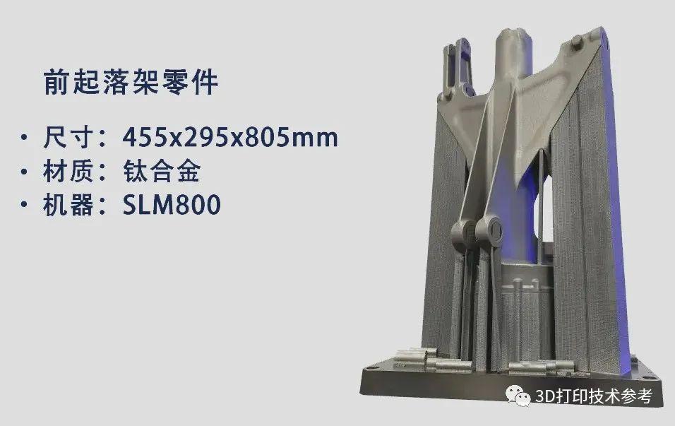 赛峰与SLM Solutions合作3D打印大尺寸商用飞机前起落架组件