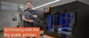 福特采用大幅面(1m³)3D打印机制造夹具和固定装置