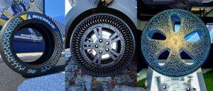 2021慕尼黑商用车展:米其林首次将3D打印轮胎用于家用汽车